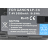 Kép 5/5 - Canon 60D akkumulator