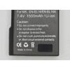 Nikon D5500 akkumulátor 1500 mAh - ENEL14