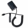 Canon LPE6 USB-C akkumulátor adapter
