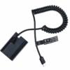 Canon LPE6 USB-C folyamatosan töltő akkumulátor adapter
