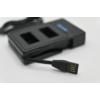 Kép 4/5 - GoPro Hero 3 akkumulátor töltő