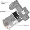 MEIKE Canon EOS R EOS adapter