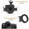 MEIKE Nikon MK-MT24-N macro flash