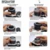 Canon EOSM EFM makro