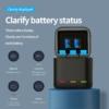 GoPro Hero 9 akkumulátor töltő