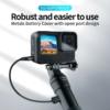 Telesin GoPro Hero 9 akkumulátorfedél