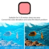 GoPro Hero 9 waterproof lens