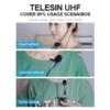 TELESIN UHF-02 vezeték nélküli kamera mikrofon