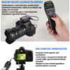 Nikon D3300 D3400 D3500 kapcsoló távkioldó