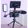 Kép 3/9 - Kamera vlog fém utazó tripod - magnézium-aluminium minitripod