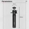 Ulanzi U-Vlog kamera fém Tripod - ballhead-gömbfej állvány (MT-14 + U-60)