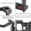 ULANZI UURig SONY A7 III fém kamera rig-cage