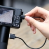 kamera akkumulátor markolat