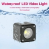 Ulanzi L2 vízálló LED lámpa - vízalatti kamera fény + RGB