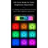 Ulanzi VL49 RGB LED lámpa - színes videólámpa Mini RGB LED - 2000mAh