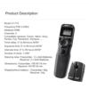 Viltrox Canon Wireless Timer Remote Shutter Release