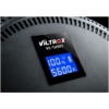 VILTROX VL-500T Fotó Video LED - 2000LM 25W 3300K-5600K Ultravékony EdgeLight Kör-lámpa