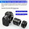Canon DSLR macro
