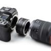 Viltrox Canon EOSR makro közgyűrű