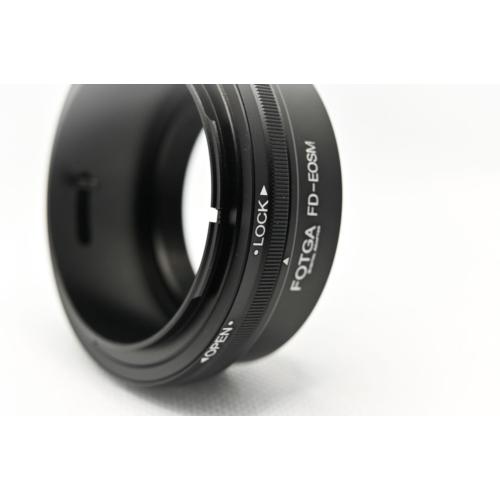 Canon EOSM FD adapter