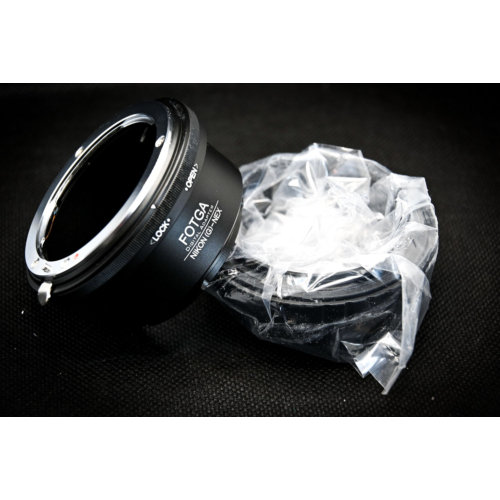 Sony E Nikon G adapter