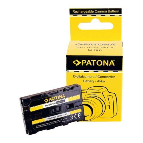 PATONA Sony NP-F550 F330 F530 F750 F930 F920 F550 akkumulátor