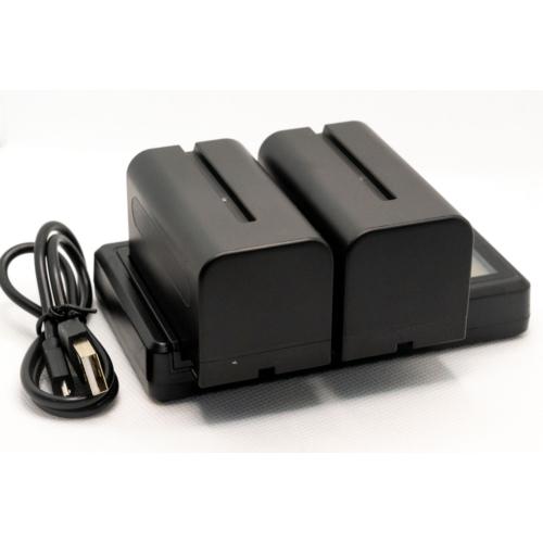 Sony NP-F750 akkumulátor töltő