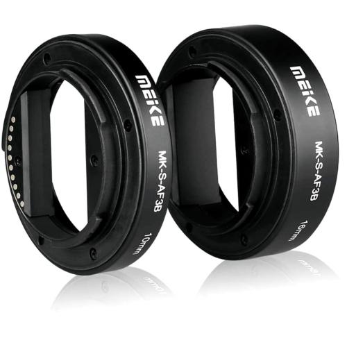 MEIKE Sony E makro közgyűrű