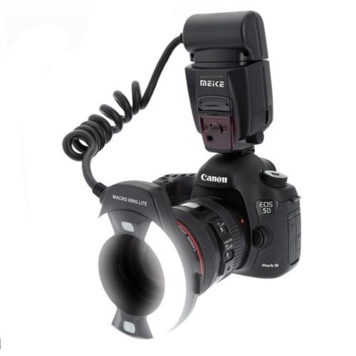 Meike MK-14EXT Canon makro vaku fény