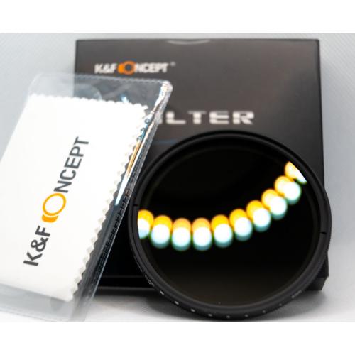 K&F Állítható ND filter 67mm szűrő