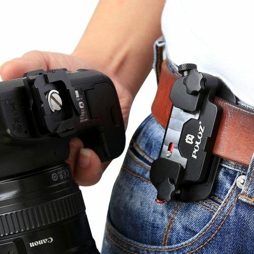 Kamera öv táska gyorskioldó