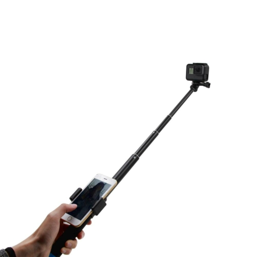 TELESIN 0.9M Carbon Fiber GoPro Teleszkópos Selfie monopod