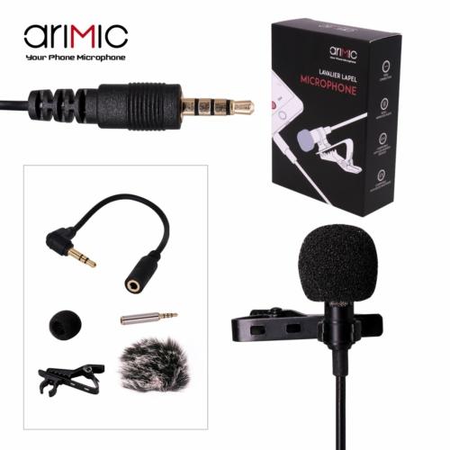 AriMic Lavalier csíptetős mikrofon