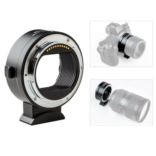 Canon EF Nikon Z6 Z7 Z50 adapter