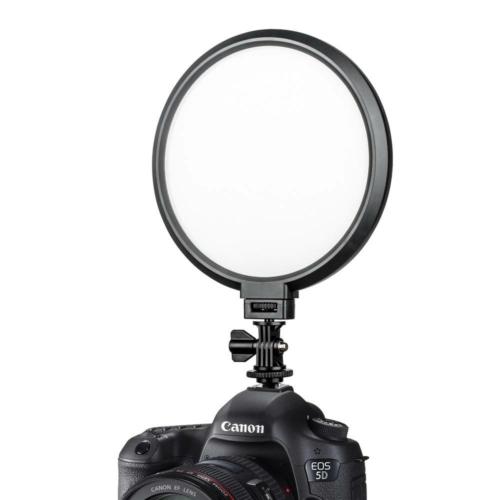 VILTROX VL-300T Fotó Video LED Kör-lámpa