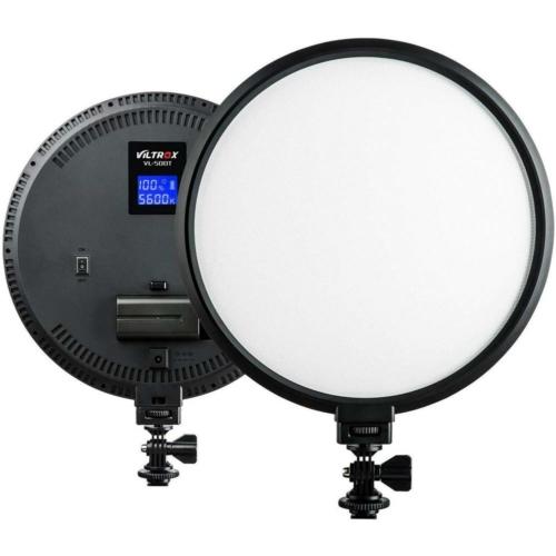 VILTROX VL-500T Fotó Video LED Kör-lámpa