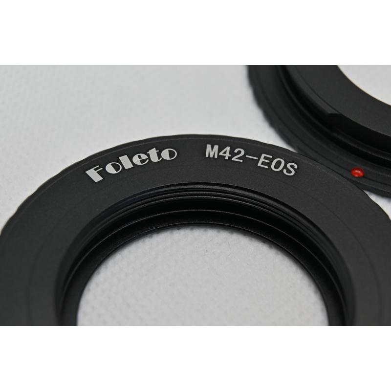 M42 Canon elektromos adapter