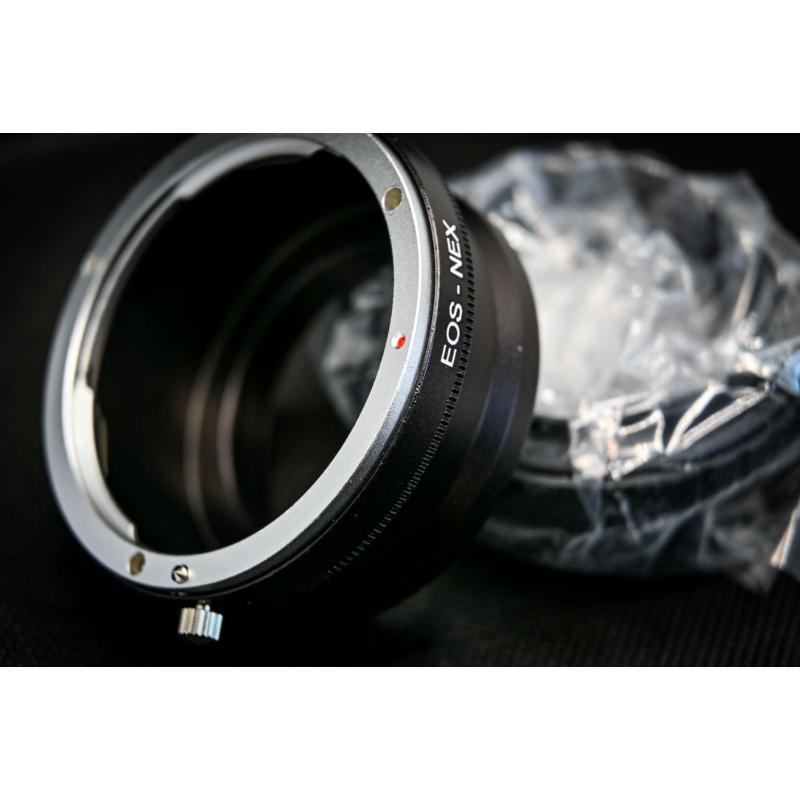 Canon EOS Sony E adapter