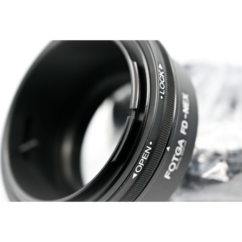 Canon FD Sony E adapter