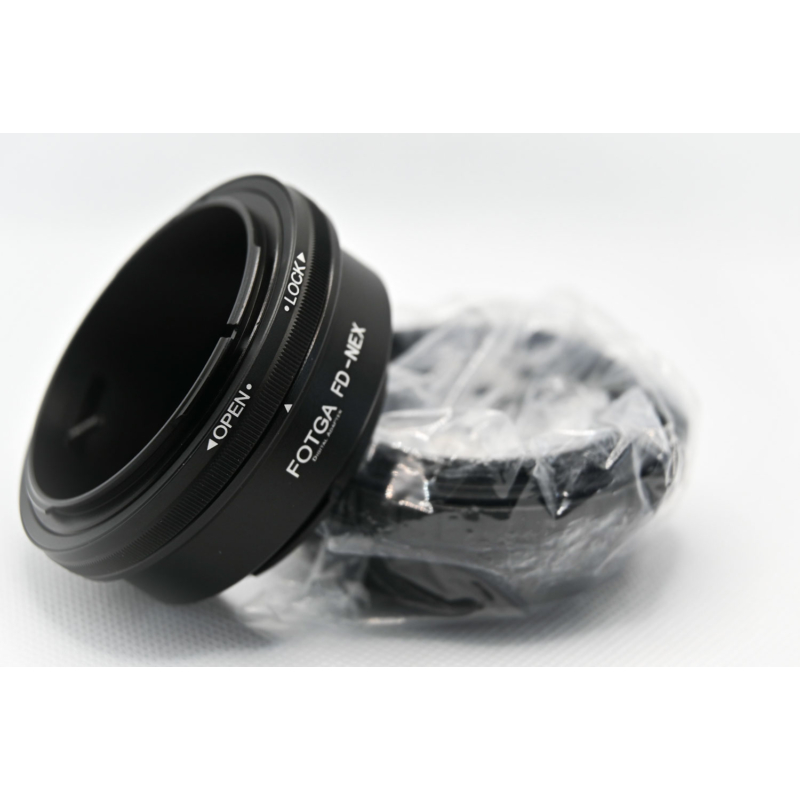 Sony E Canon FD átalakító