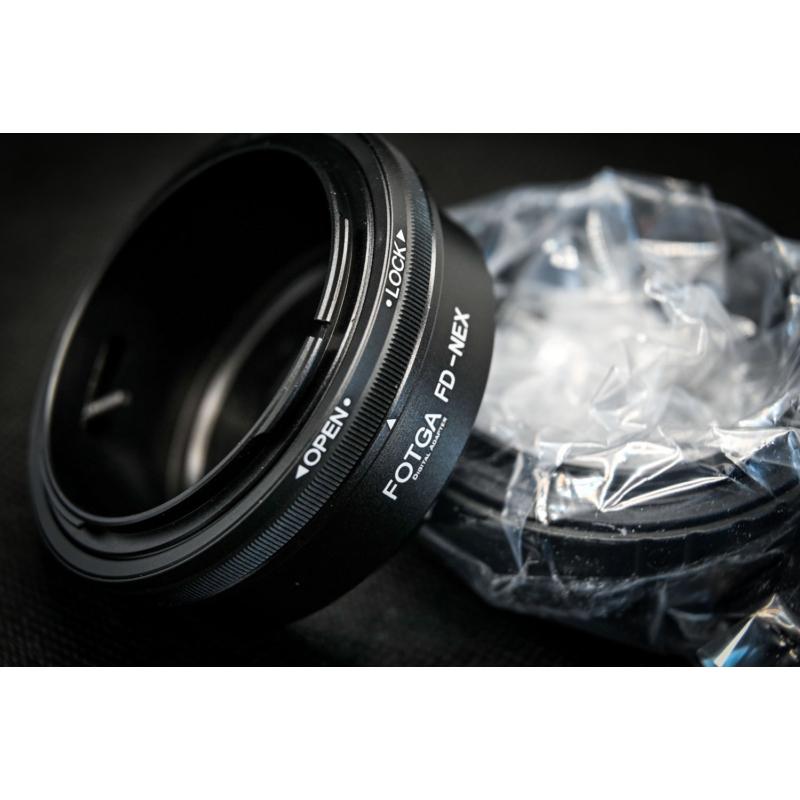 Sony E Canon FD adapter