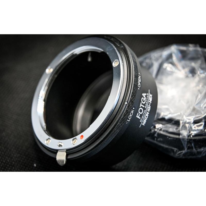 Fotga Sony E Nikon G adapter