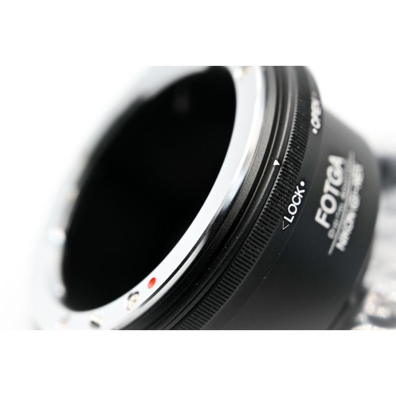 Sony E Nikon konverter