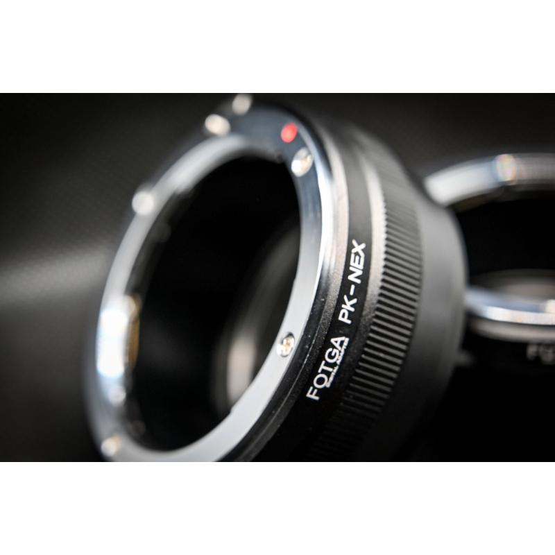 Sony E Pentax adapter FOTGA