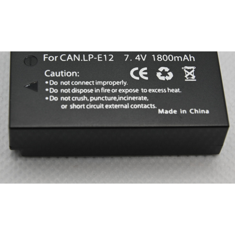 Canon EOSM battery