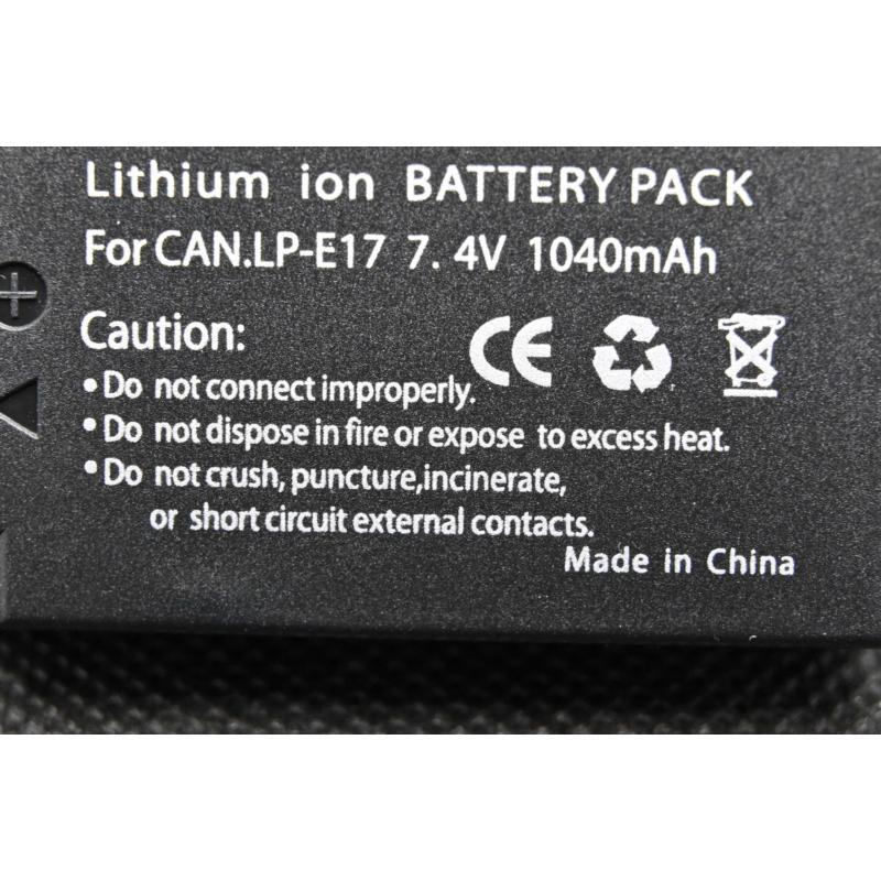 Canon LP-E17E akkumulátor
