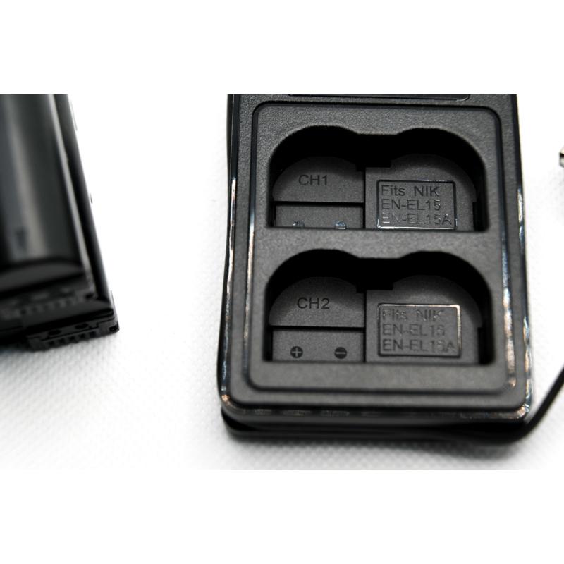 Nikon EN-EL15 töltő
