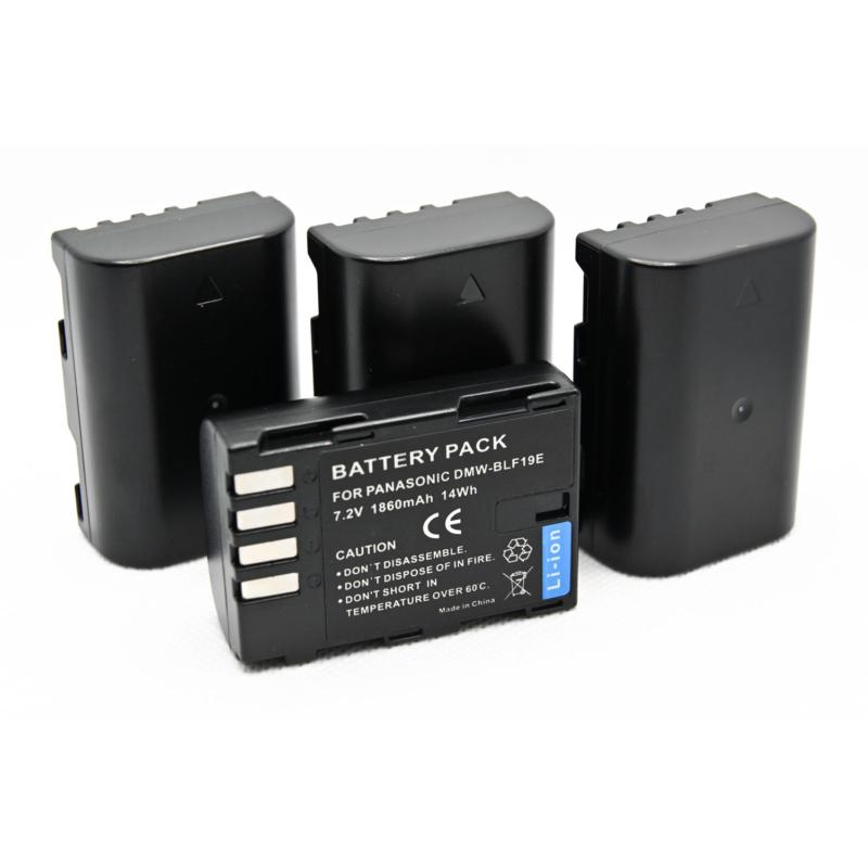 Panasonic DMW-BLF19 akkumulátor - 1860 mAh, BLF19, BLF19E