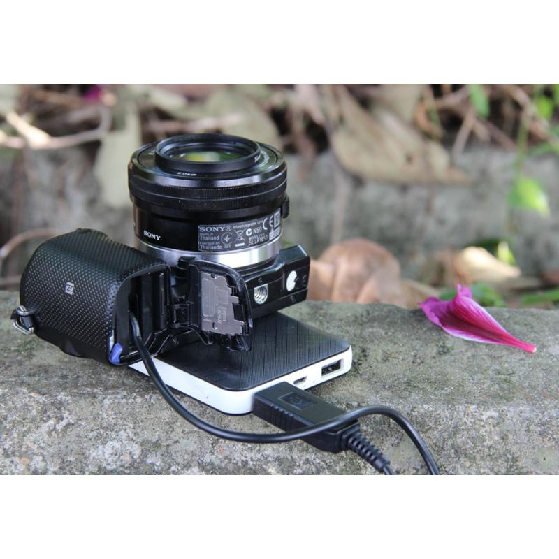 Sony NP-FW50 akkumulátor adapter