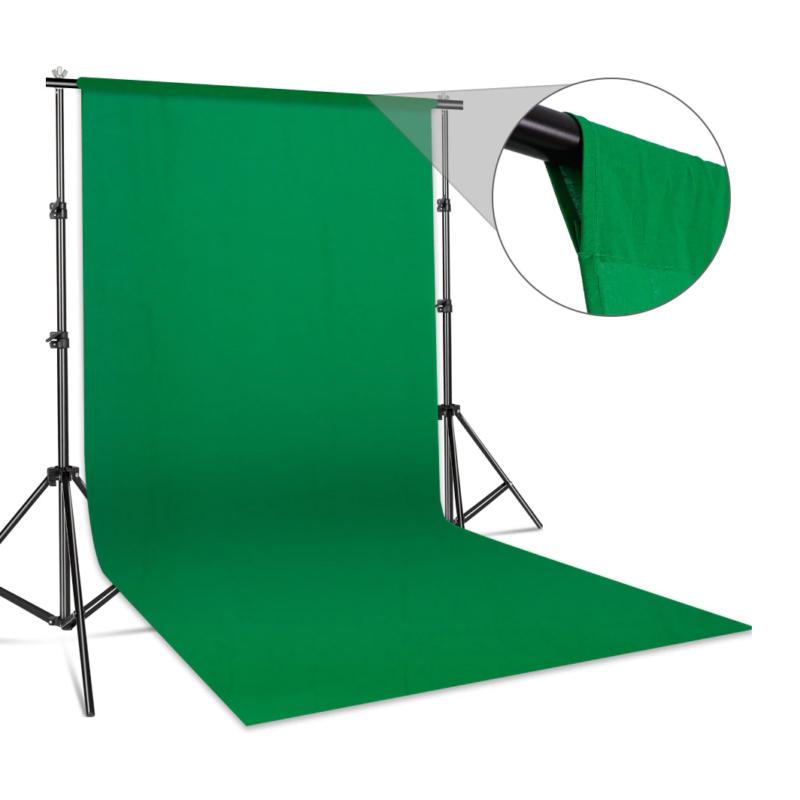 zöld fotós háttér
